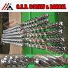 bimetallic blown film single screw and barrel