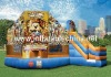 Newest Inflatable Amusement Park Bouncer with Slide