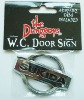 car badge, license plate with chrome/ electroplated