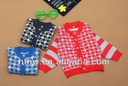 baby british popular fashion grids sweater