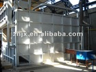 gas scrap metal melting furnace