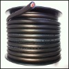 Transparent frosted PVC insulated 1/0GA Power Cable for car