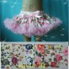 Girls Apparel baby floral pettiskirt wholesale