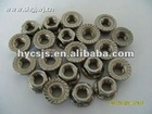 stainless hex flange nut