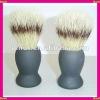 synthetic bristle brush shaving