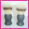 synthetic bristle brush shaving