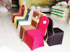 polyester spandex chair cover Lycar chair cover for weddings and events