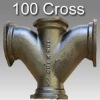 Ductile casting 100 cross