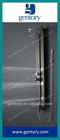2012 NEW VERNET 304 Black Mirror finish Stainless Steel Shower Panel S172