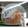 Inflatable snowflake ball bouncer,inflatable bouncer house, inflatable transparent ball