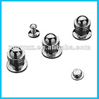 Set for chrome bidet faucet mixer
