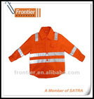100% Cotton Hi-Vis Shirt with reflective tape for Kids