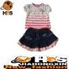 2012 newest Kids Suit kids skirt suit