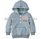 80% cotton 20% polyester boys hoodyed sweatshirt