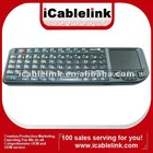 2012 newest 2.4G Wireless Rii Mini PC Keyboard with Touchpad USB Receiver
