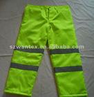 Hi vis reflective quilt lined Polycotton trousers