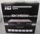 SKYBOX PVR HD Satellite receiver, supported CCCam, blind scan