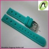 2012 latest design 16mm rubber watch band