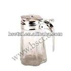 glass oil dispenser, glass honey dispenser