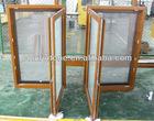 Fly screen wood window