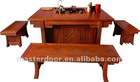 Solid Wooden Tea Table In Living Room Furniture