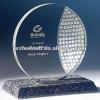 glass plaque trophy