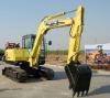 7ton mini excavators Imported structrual parts,Hydraulic radus with bucket capacity 0.3m3