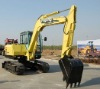 7ton mini excavators Imported structrual parts,Hydraulic radus with bucket capacity 0.3m3