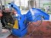 Tractor Wood chipper WC-6/8 with hydraulic feeding