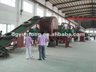 professional waste tyre recycling equipment manufacturer