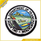 2012 customized colorful embroidered patch