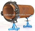 Hydraulic Split Frame Pipe Cutting & Beveling Machine