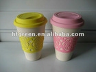 bamboo fiber eco drinking cup