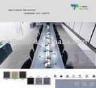 LT Series PVC free Rubber Backing Nylon office Carpet Tiles