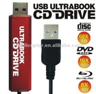 A830 New Portable External USB Ultrabook CD Drive K0106P Eshow