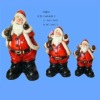 santa claus sculpture for christmas gift