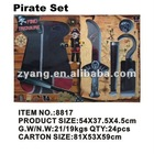Halloween pirate pretend play set