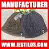 2012 New fashion hot sale acrylic knitted winter hat