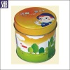 kids cartoon tin can