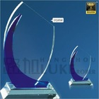 Crystal plaques
