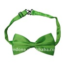 Green School Bowtie for Girls and Boys