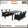 Wicker Garden Furniture of Table with Eight Chairs (SC-B8849-B)