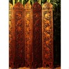 Thailand style wooden room divider