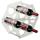Clear Acrylic wine holder ,used widely