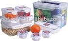 10 PCS lid food storers box