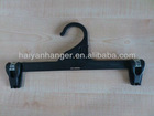 plastic clothes hanger with clips