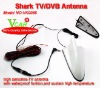 Multiple-function shark antenna with TV/DVB different function