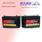12V 60AH Car Battery with 260A CCA and 100min RC