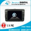 Sharing Digital High Tech Car Radio DVD Player GPS Navigation for VW SCIROCCO 2008-2011