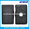 Slim design 360 degree rotating stand leather case for Google Nexus 7